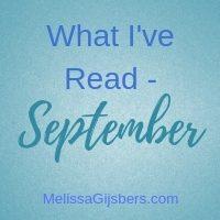 What I've Read September